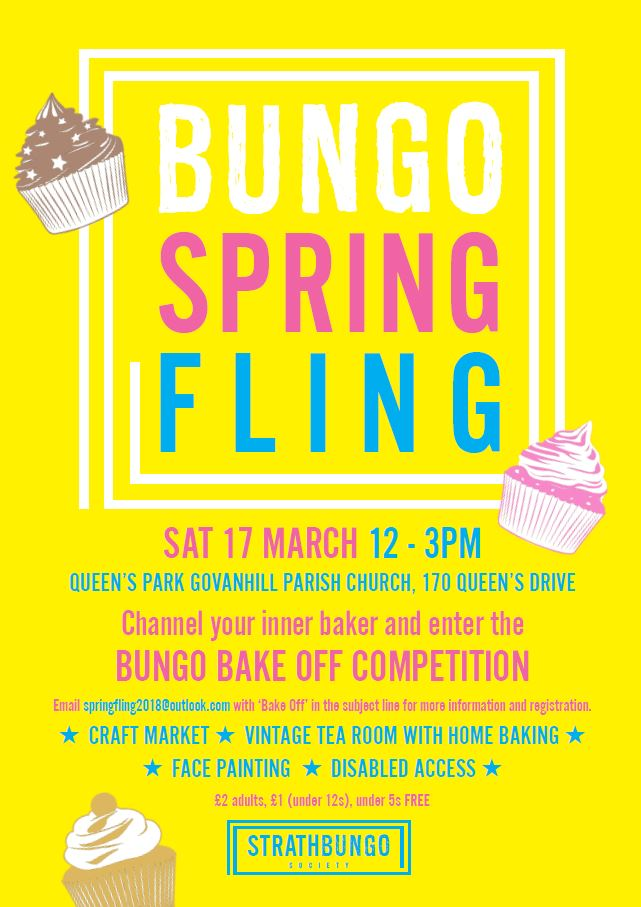 poster for spring fling event