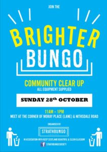 Brighter Bungo @ Gather at junction of Moray Place and Nithsdale Road