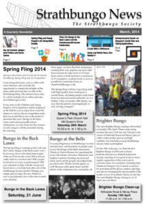 Strathbungo Newsletter March 2014 front page